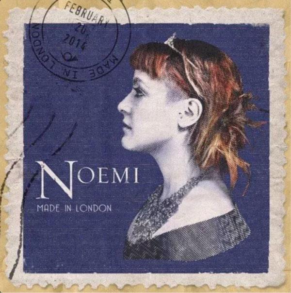 Noemi copertina made in london