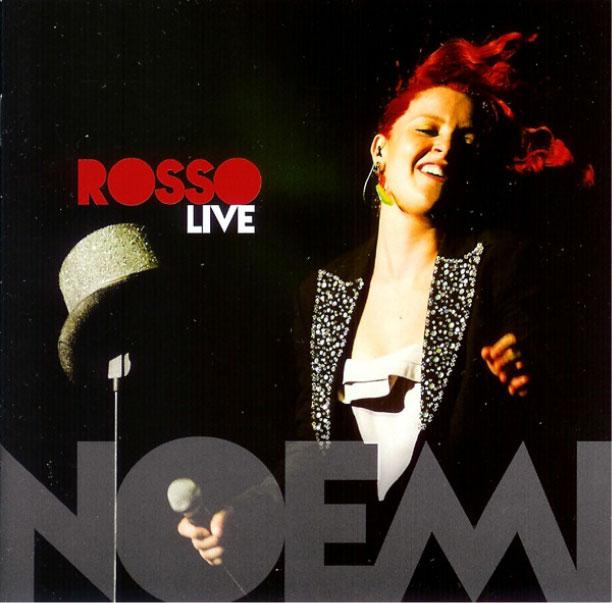 Noemi copertina rosso live
